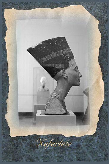 Nefertiti in museum in Berlijn