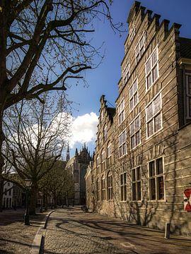 Hooglandse Kerkgracht in Leiden von Dirk van Egmond