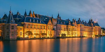 Hofvijver, La Haye, Pays-Bas sur Henk Meijer Photography