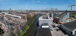 Uitzicht over Utrecht vanaf watertoren Rotsoord.