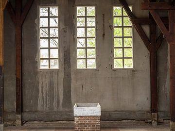 un cadre de fenêtre