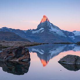 Matterhorn & Stellisee van Sander van der Werf