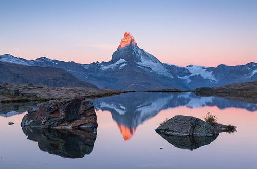 Matterhorn & Stellisee van