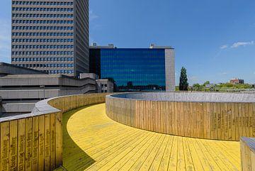 Luchtsingel Rotterdam centrum, Zuid Holland, Netherlands von Martin Stevens
