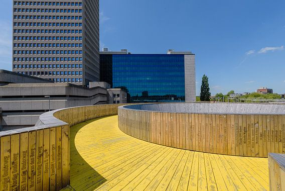 Luchtsingel Rotterdam centrum, Zuid Holland, Netherlands