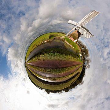 Planète moulin à vent hollandais sur Frenk Volt