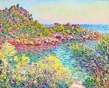 Landschap bij Monte Carlo, Claude Monet sur