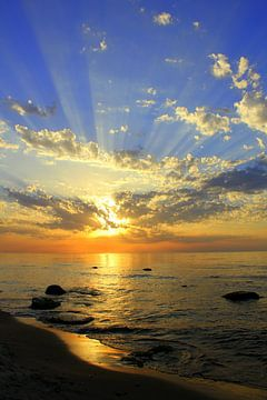 Sonnenstrahlen von Ostsee Bilder