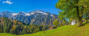 Gerstruben, Allgäu Alps van