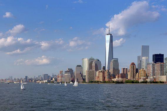 Manhattan vanaf het water