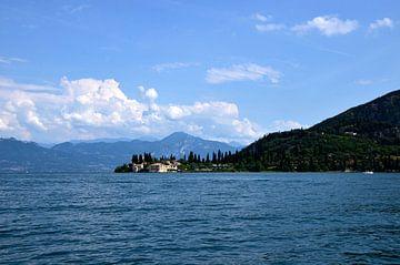 Garda meer van Thomas Bellens