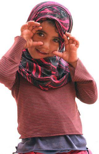 Meisje in Petra