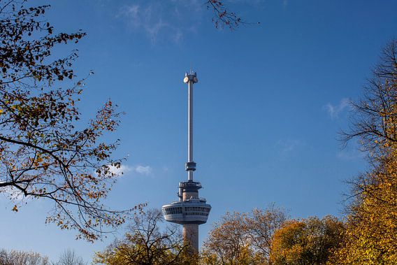 Euromast observatietoren in Rotterdam, Nederland.