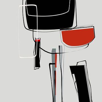 Abstracte samenstelling 897 van Angel Estevez