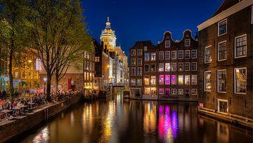 Oudezijdsvoorburgwal Amsterdam von Erik Wilderdijk
