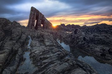 Donkere Titan (Asturië / Noord-Spanje) van Dirk Wiemer