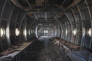Ziekenhuis in vliegtuig
