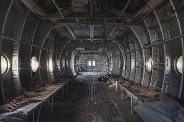 Krankenhaus im Flugzeug von Perry Wiertz