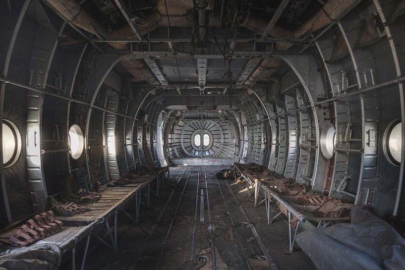 Ziekenhuis in vliegtuig van Perry Wiertz