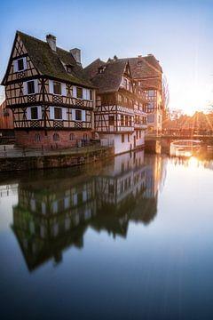 Petite France in Straßburg im Elsass in Frankreich