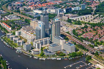 Luchtfoto Amstelgebied van Anton de Zeeuw