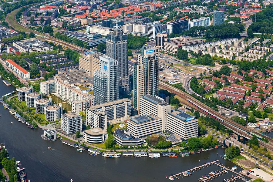 Luchtfoto Amstelgebied