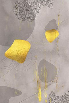 Mid-Century Vintage Nr. 2 | gold-braun von Melanie Viola