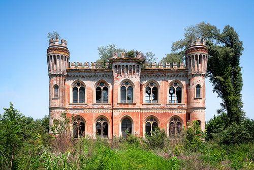 Château abandonné à la campagne. sur Roman Robroek