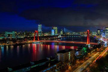 De drie bruggen in Rotterdam van Roy Poots
