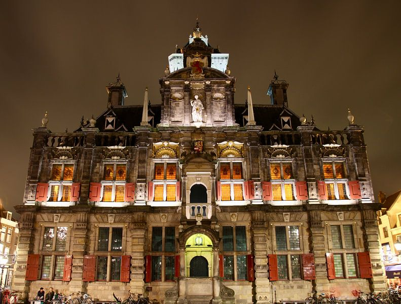 Stadhuis Delft van Sven Zoeteman