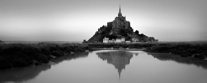 Mont Saint-Michel panorama van Niels Devisscher