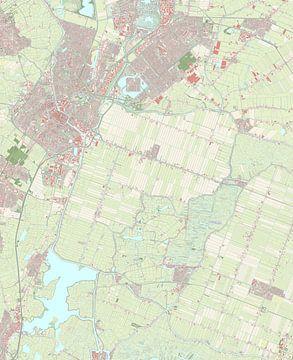 Kaart vanAlkmaar