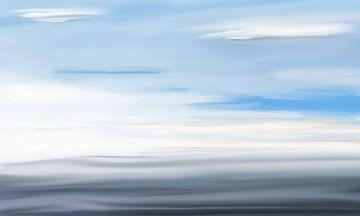 Auf dem Meer von Jan Brons