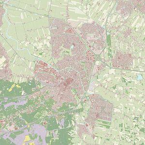 Kaart vanAmersfoort van