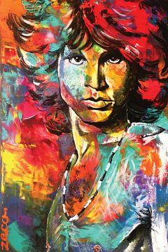 Jim Morrison (2018) von Zeca
