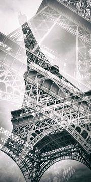 Double Panorama Tour Eiffel sur Melanie Viola