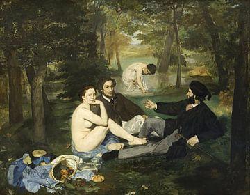 Lunch op het gras, Édouard Manet van