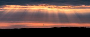 A lonesome windturbine, Uddevalla, Sweden.