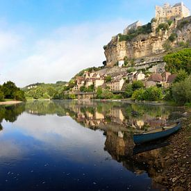 Ville de Beynac-et-Cazenac à côté de la Dordogne sur iPics Photography