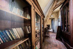 Urban exploration de boekencollectie van Aurelie Vandermeren