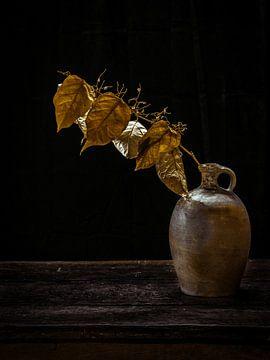 Golden leaves van Miriam Meijer, en plein campagne.....