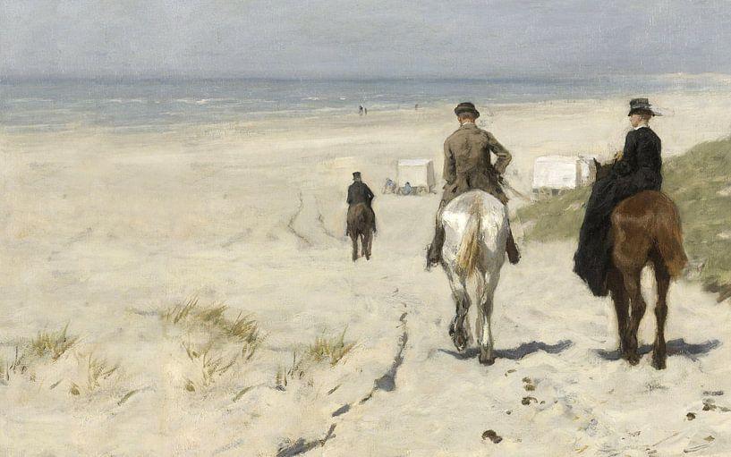Morgenrit langs het strand, Anton Mauve van Meesterlijcke Meesters