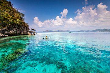 Varen in een tropisch paradijs van Antwan Janssen