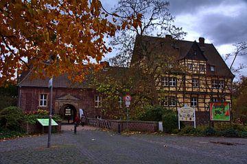 Kasteel ingang van Edgar Schermaul