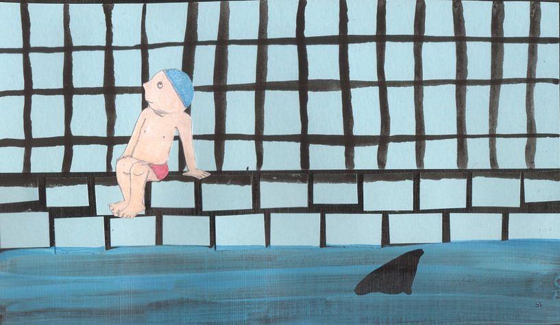Haaienbad von Sandrine Lambert
