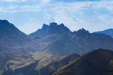 Abendstimmung in den Südtiroler Dolomiten von Rudolf Brandstätter