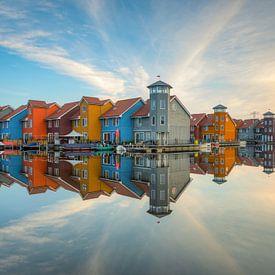Rijdende diephaves in Groningen van Michael Valjak