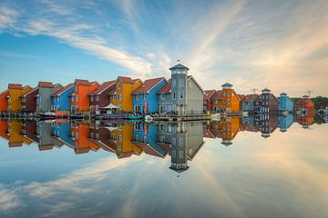 Rijdende diephaves in Groningen