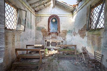 chapelle abandonnée sur Kristof Ven