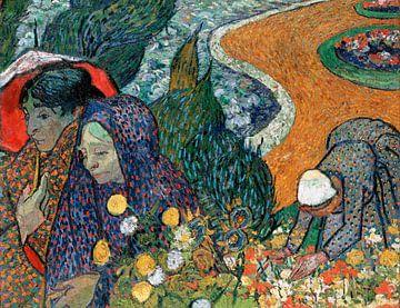 Erinnerung an den Garten von Etten (Damen von Arles), Vincent van Gogh von